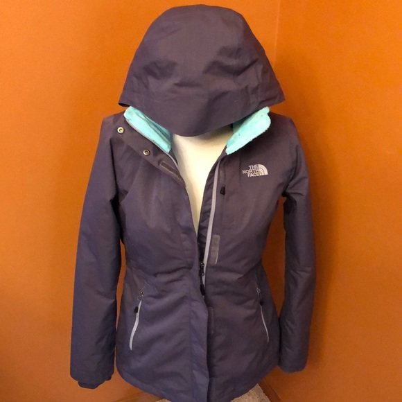 The North Face Jackets & Blazers - The North Face purple jacket with mint green